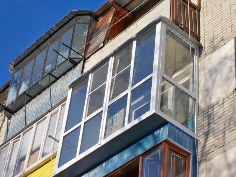 Остекление балконов и лоджий в кургане добрые окна курган.